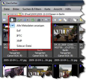 Metadaten-Filter